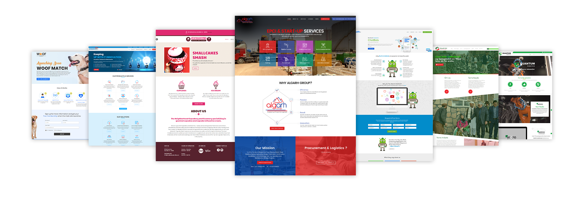 We build beautiful high converting websites